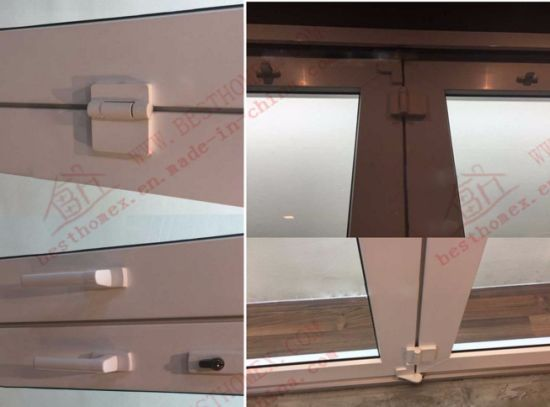 Soundproof UPVC Bifolding Door/Accordion Door (BHP-AD01) pictures & photos