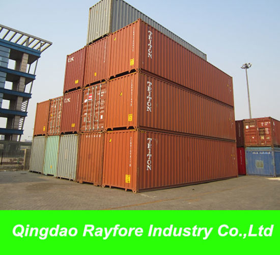 One-Trip 40FT Ocean Standard Shipping Container for Sale