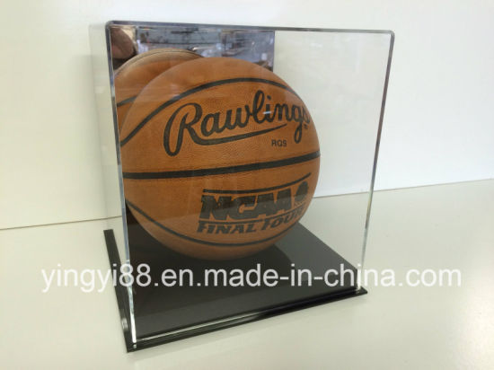 Full Size NBA Basketball UV Acrylic Display Case pictures & photos