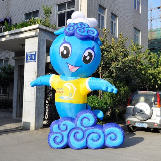 Customized Inflatable Cartoon Characters Advertising Inflatable Cartoon pictures & photos