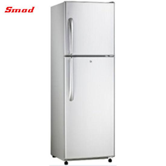 Double Door Top Freezer No Frost Refrigerator with Ice Maker