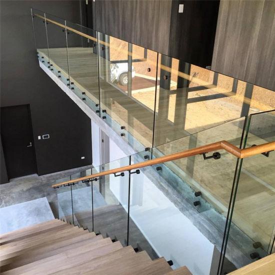 China Laminated Glass Price Steel Railing Balcony Railing Designs