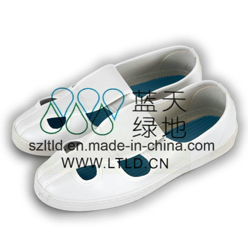 ESD PU Shoe 4-Holes (LTLD304-3) pictures & photos