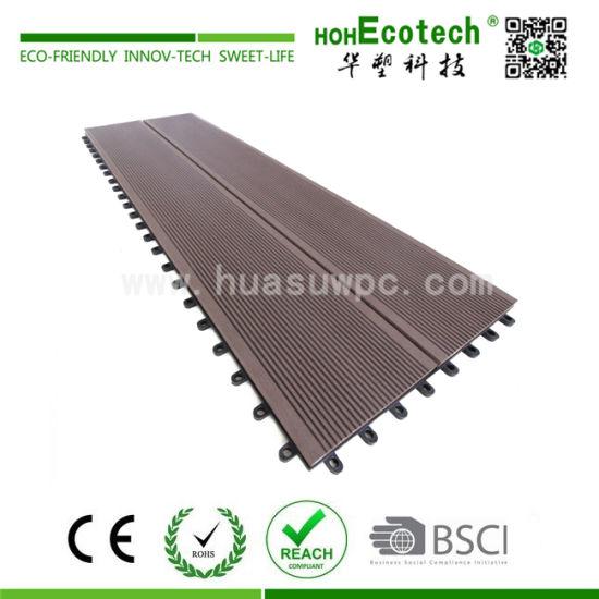 China Balcony Wpc Diy Easy Installation Outdoor Flooring Tile