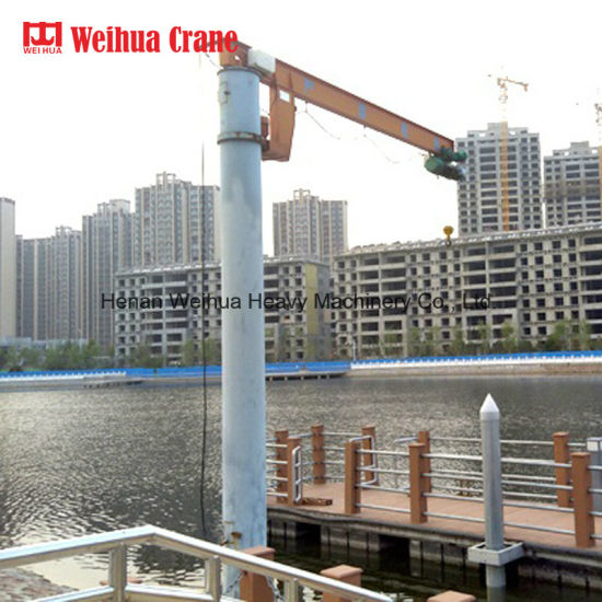 Weihua 1 Ton Stationary Mobile Jib Crane