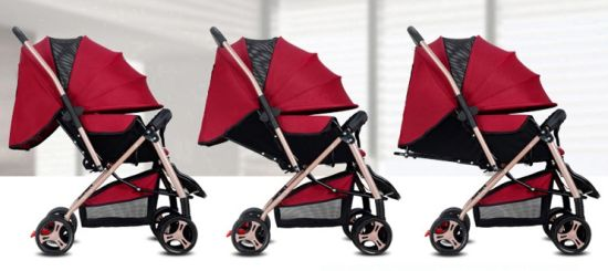 Wholesale Comfortable Luxury Baby Stroller with Large Seat (CA-906-1) pictures & photos