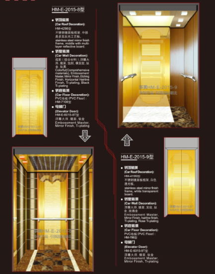 Vvvf Passenger Elevator with Machine Room pictures & photos