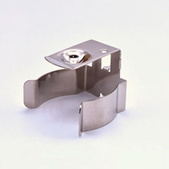 High Quality Stainless Steel Metal Battery Holder Contact Clamp pictures & photos