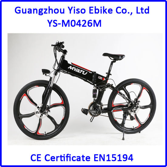 df586b4f157 Mgm Motor Electric Bikes Folding E Bikes for Mountain pictures & photos