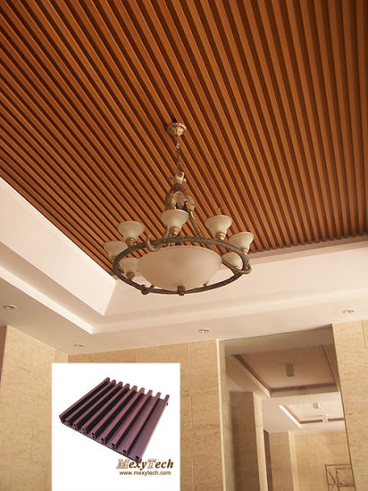 fashionable trendy and young decoration material eco wood 4045mm - Cheapest Ceiling Material