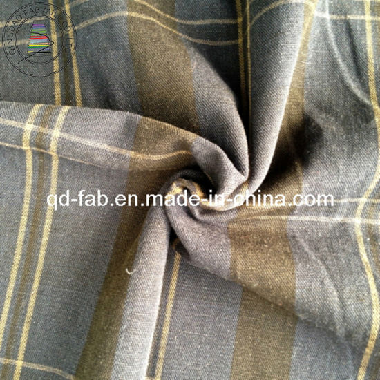 Linen/Cotton Yarn Dyed Fabric (QF13-0756) pictures & photos
