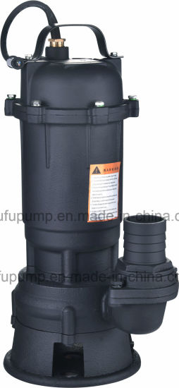 Hot Sale 220-Volt Submersible Water Pump for Dirty Water