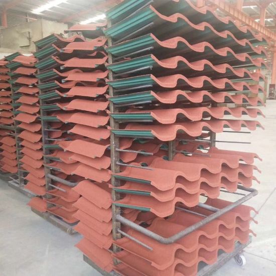 Stone Coated Metal Roof Tile Steel Sheets Import Building Metro Tiles Lightweight Roofing Materials From China Manufacturer