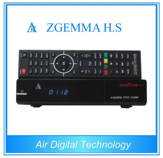 Single DVB-S2 Tuner Zgemma H. S Full HD Satellite Receiver pictures & photos
