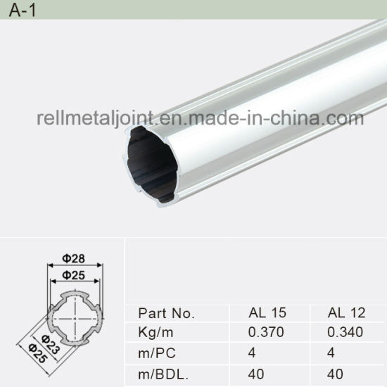 Aluminum Alloy Pipe and Joint Racking System (A-1)  sc 1 st  Rell Co. Ltd. & China Aluminum Alloy Pipe and Joint Racking System (A-1) - China ...