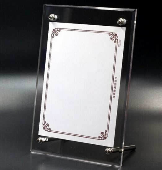 China 2016hot Sale Acrylic Frame Picture Frame Photo Frame Acrylic ...
