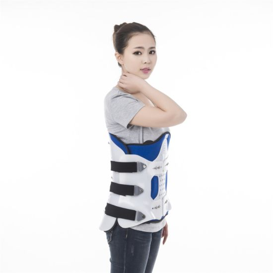 China Manufacturer Orthopedic Spine Back Support Waist Lumbar Support Brace  with Gasbag