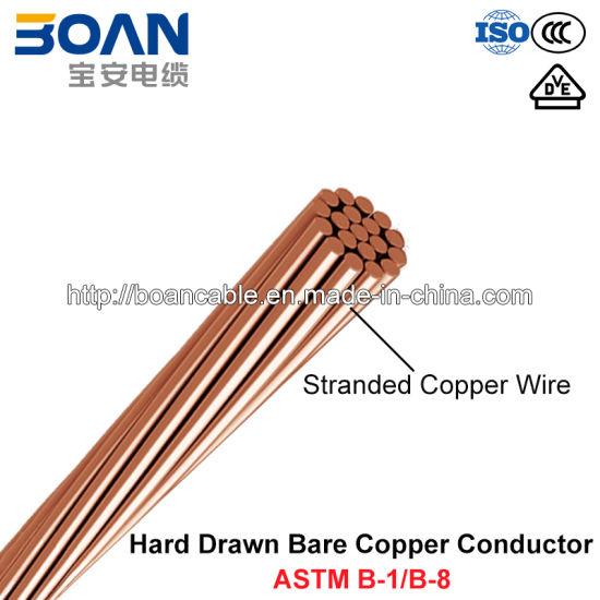 China Hdbc, Hard-Drawn Bare Copper Conductor (ASTM B1/B8) - China ...