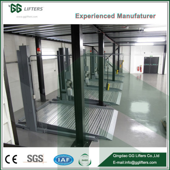 China GG Brand Portable Two Post Car Lift Automatic Double Column ...