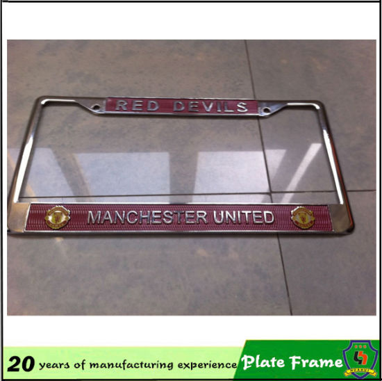 China Hot Sale Wholesale Custom Plastic License Plate Frame - China ...