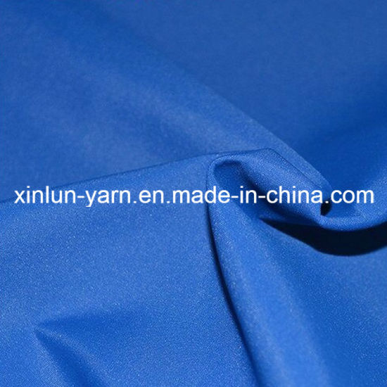 Polyester Fabric for Transparent PVC Poncho and PVC Raincoat