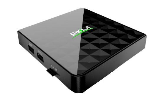 Rikomagic Octa Core Kodi TV Box with 2g RAM, 16g ROM 4k H. 265@60fps