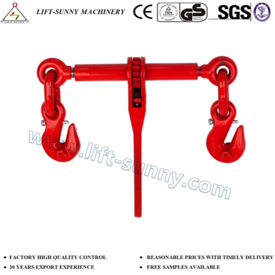 En12195-3 Ratchet Type Load Binder with Hook and Pin