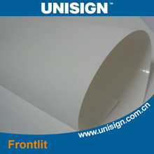 Unisign Hot Cold Lamianted Frontlit Banner Material pictures & photos