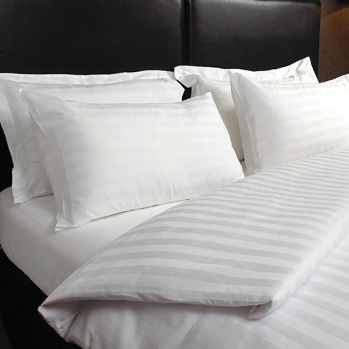 100% Cotton 3cm Stripe Hotel Bedding Sets pictures & photos