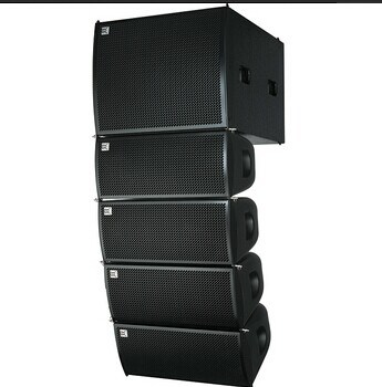 8 Inch Line Array with 15 Inch Sub Bass Indoor Sound Wedding Party for 1000 People