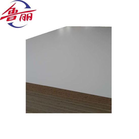 Melamine Particle Board for Outdoor Usage Melamine Faced Particle Board
