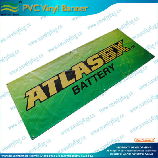 Fast Production Time of Vinyl Banner (B-NF26P07014) pictures & photos