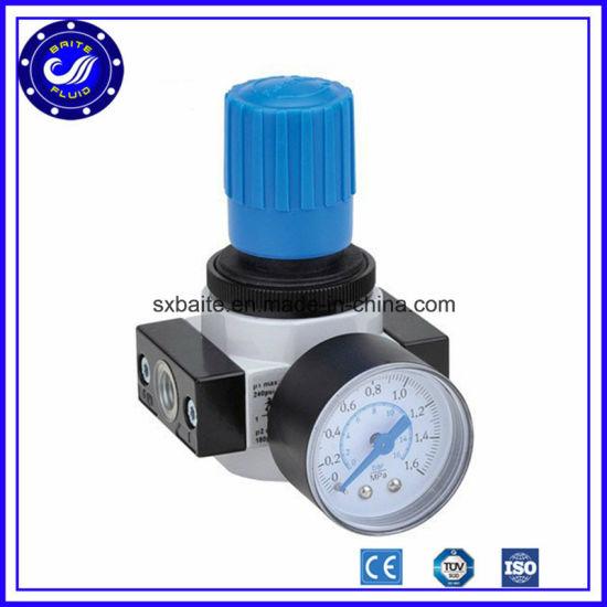 Small Pressure Loss High Water Separation Efficiency BFR-2000 G1//4 Air filter regulator,Pressure Regulator With Gauge