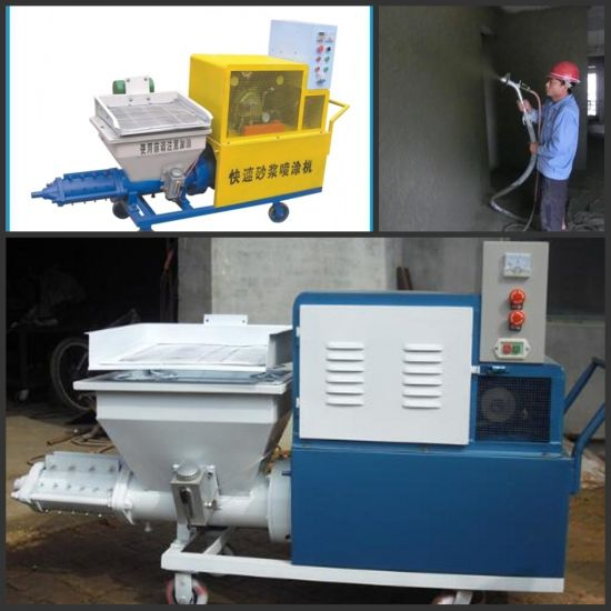 Professional Manufacturer Wall Putty Spray Machine pictures & photos
