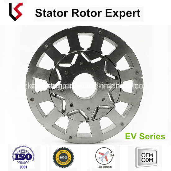 China Lamination Stator Rotor Od 180 ID 110 Slots 12 Axle 40 for