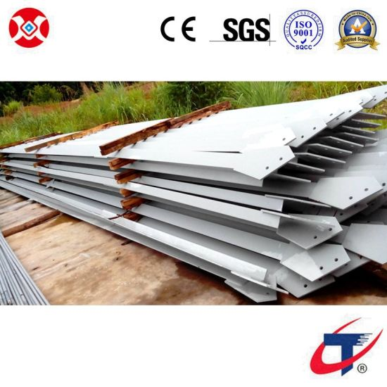 Steel Structure H Section Beams and Columns Building Project Prefabricted pictures & photos