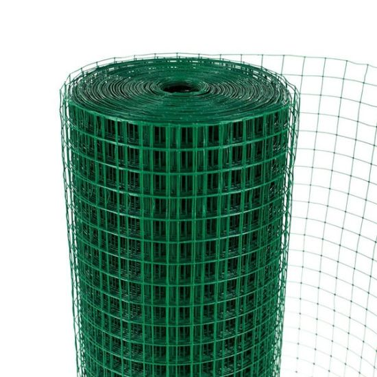 China Wholesale PVC Coated Galvanized Welded Mesh Roll pictures & photos