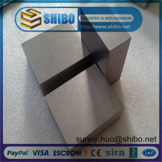 99.95% Pure Moly Sheet/Plate for Punching Molybdenum Dics pictures & photos