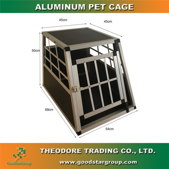 China Hot Selling DIY Eassembly Aluminum Dog Cage - China