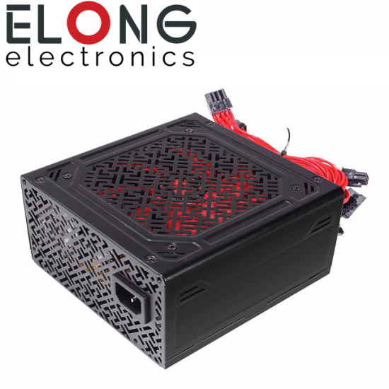 High Quality Black Cover Power Supply 400W