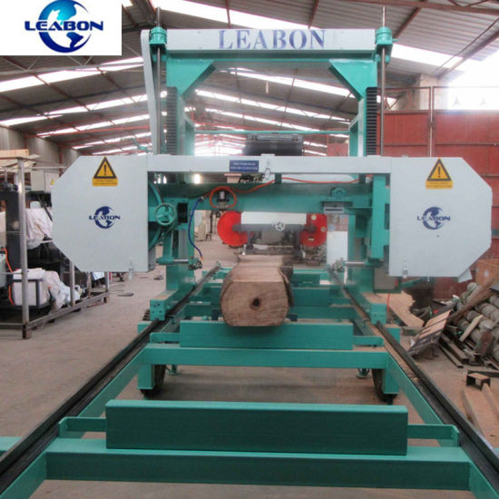 China Used Diesel Portable Horizontal Bandsaw Sawmill for