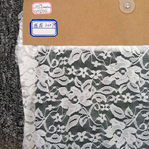 Lace Fabric for Clothing/Garment/Shoes/Bag/Case (GPHD002)