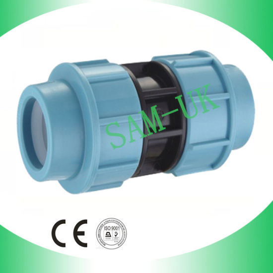 PP Compression Fitting Coupling PP Irrigation Coupling pictures & photos