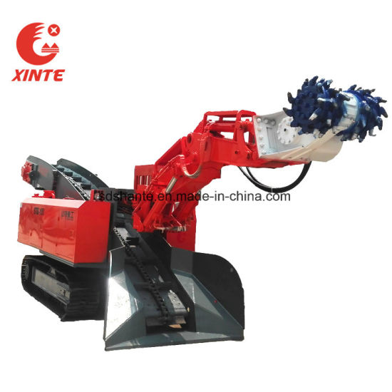 Mine Pit Well Electric Hydraulic Rock Mucking Mining Loader