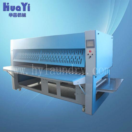 Industrial Laundry Sheet Folding Machine 3300mm / Automatic Folder
