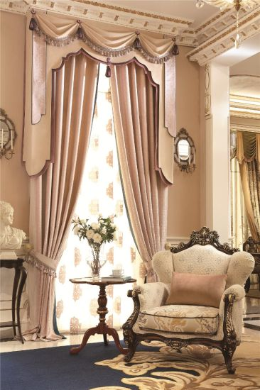 Living Room Curtain American Pattern Curtain Sets
