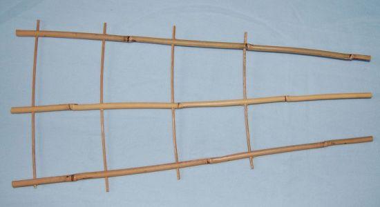 Folding Garden Manufacturer of Bamboo Flower Support Cane Ladder Shelf