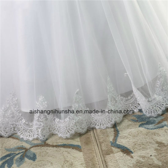 Crystal Beads Wedding Dress for Brides Formal Sweetheart pictures & photos