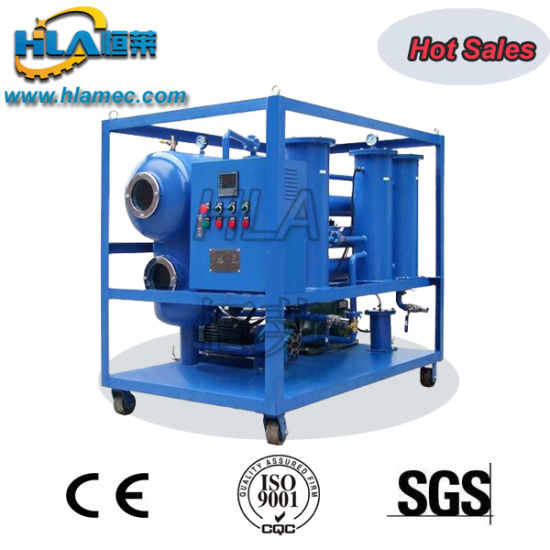 Double Stages Vacuum Transformer Oil Insulating Oil Filtration Equipment pictures & photos