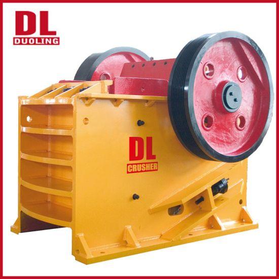 High Efficiency Stone Crushing Machine PE Series Jaw Crusher for Mining/Ore/Construction
